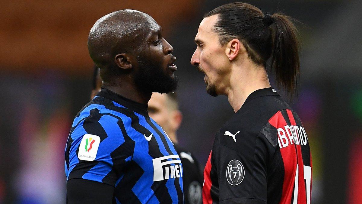 """Replying to @FoxSportsBrasil: """"Eu vou f* você e sua mulher!""""  - Lukaku, para Ibrahimovic"""