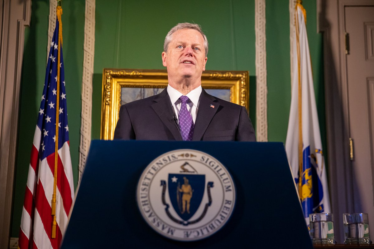 """Thank you @MassGovernor for recognizing how """"@SalvationArmyUS, @RedCross, @YMCA, food banks, pantries and hundreds of charitable organizations pivoted on a dime to feed, shelter and assist those in need."""""""