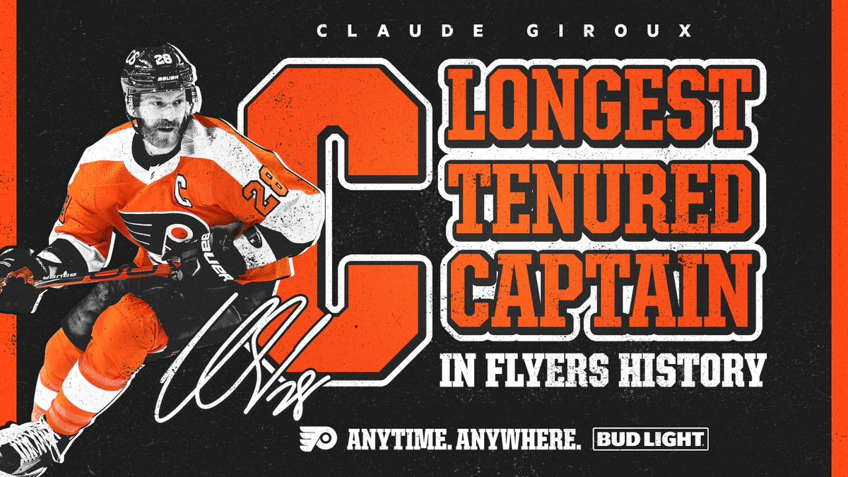 You love to C it.   Congrats, @28CGiroux!   @budlight | #budlightcelly https://t.co/6KyHMR7AMP