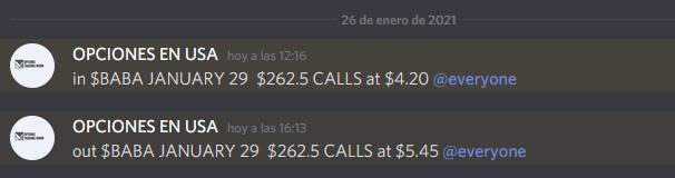Trade de hoy en el trading Room. Cerramos un Day Trade en $BABA con una ganancia de 29.76%  #PROFIT #OPTIONS #OPTIONTRADING #STOCKS #ALERTS #SWINGTRADING #OPCIONES #MERVAL #ALERTAS #BYMA #BOLSA #ACCIONES #GGAL #TRADINGROOM #DOLAR #DOLARBLUE #TRADING #DAYTRADING #RFX20