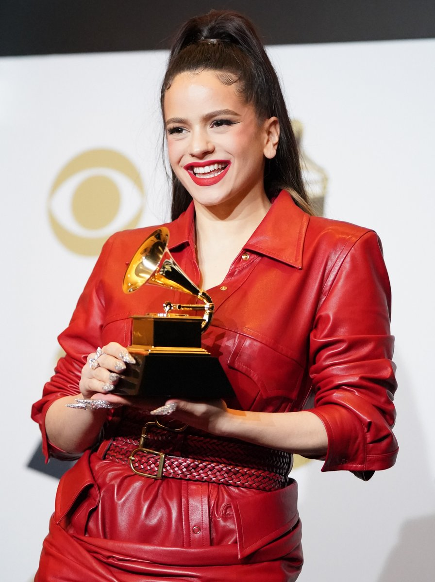 Exactly one year ago, @rosalia took home the GRAMMY for Best Latin Rock, Urban Or Alternative Album for 'El Mal Querer' and made her #GRAMMYs stage debut at the 62nd GRAMMY Awards:  ✨🎶