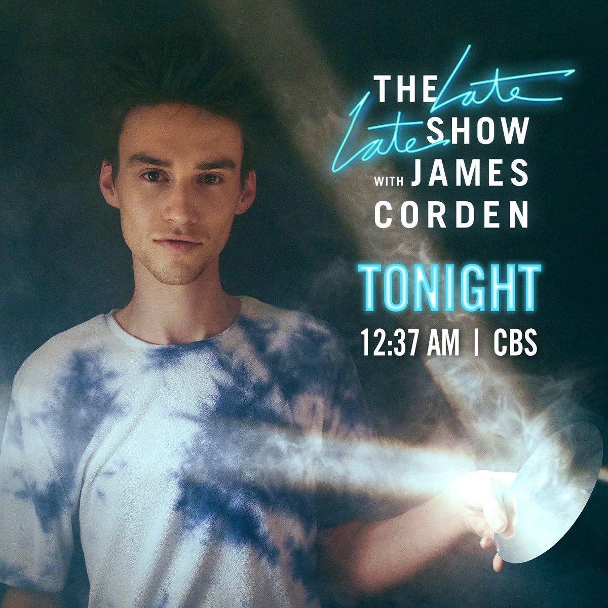 Tonight!!! @latelateshow – Tune in 😊
