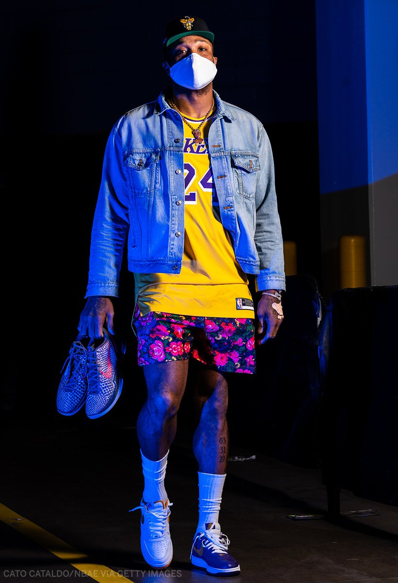 Replying to @ESPNNBA: PJ Tucker pays tribute to Kobe on arrival 💜💛🐍