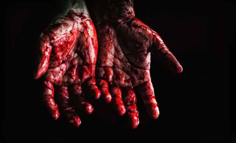 #ImpeachAndConvict trump has blood on his hands
