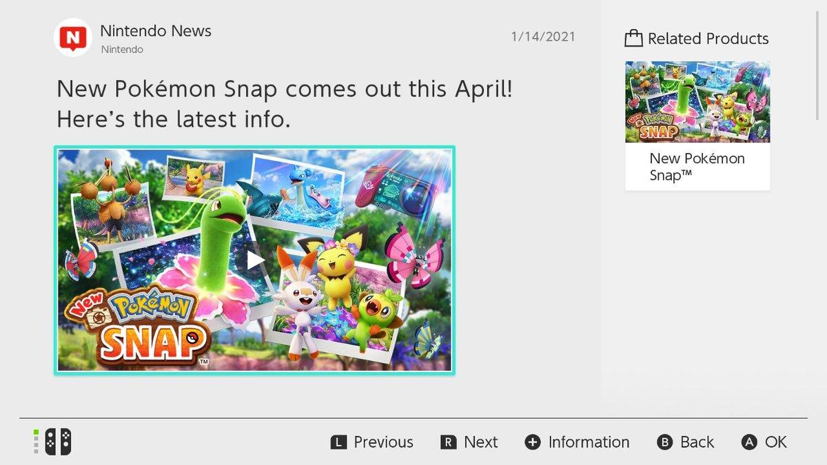 *NEW* POKEMON SNAP *NEWS #POKEMONSNAP #NintendoSwitch