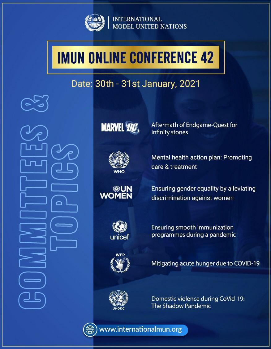 Register now to be a part of this landmark event as IMUN sets the tone for the rest of the MUN world. Seats are limited so make sure you register at the earliest🔥 . #InternationalMUN #mun #imun #modelunitednations #imun2020 #youth #globalopportunity #opportunity #un