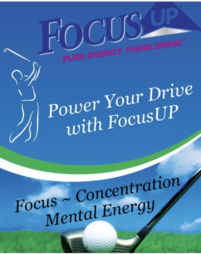 Power Your Drive with FocusUP! #Focus #Concentration #MentalEnergy  Order #Xooma's FocusUP at   #golf #golfers #golfing #golfpro  #energy  #energydrink #golflovers  #golfaddict  #lovegolf  #instagolf  #instagolfer