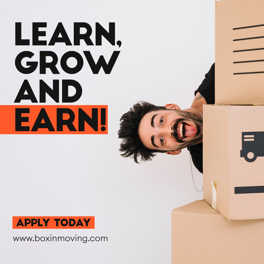 Looking for #work? Boxin moving LLC has opportunities! We are looking for new team members! Start a new career path with Boxin Moving to learn grow and earn.  APPLY TODAY!    . . #boxinmoving #boxinmovingagent #professionalmovers