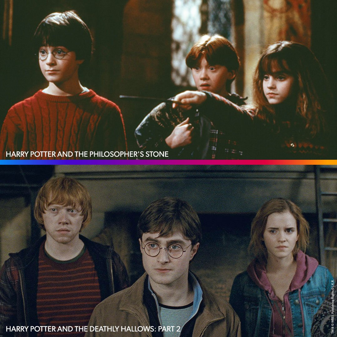Name a more iconic trio, we'll wait.   Every #HarryPotter movie is streaming now on #BINGE.