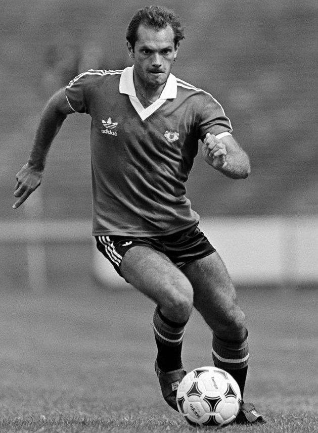 Ray Wilkins, Manchester United   #MUFC #ManUtd #ManchesterUnited
