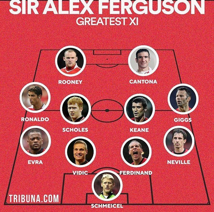 Qui valide ce XI de Sir Alex Ferguson ? #MUFC