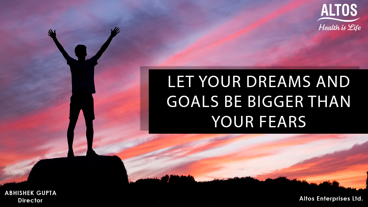 Let your dreams and goals be bigger than your fears #fitness #businessowner #health #bodybuilding #fitfam #selfcare #exercise #gym #altos #altosbeauty #workout #healthyeating #nutrition #healthyfood #healthy #entrepreneurlife #dream #goals