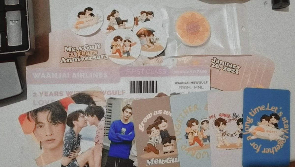 It's here!  Thank you @welovemewgulf for organizing this CSE 🤗♡  Happy 2 years ♥🌻☀️ #2yearsWithMewGulf