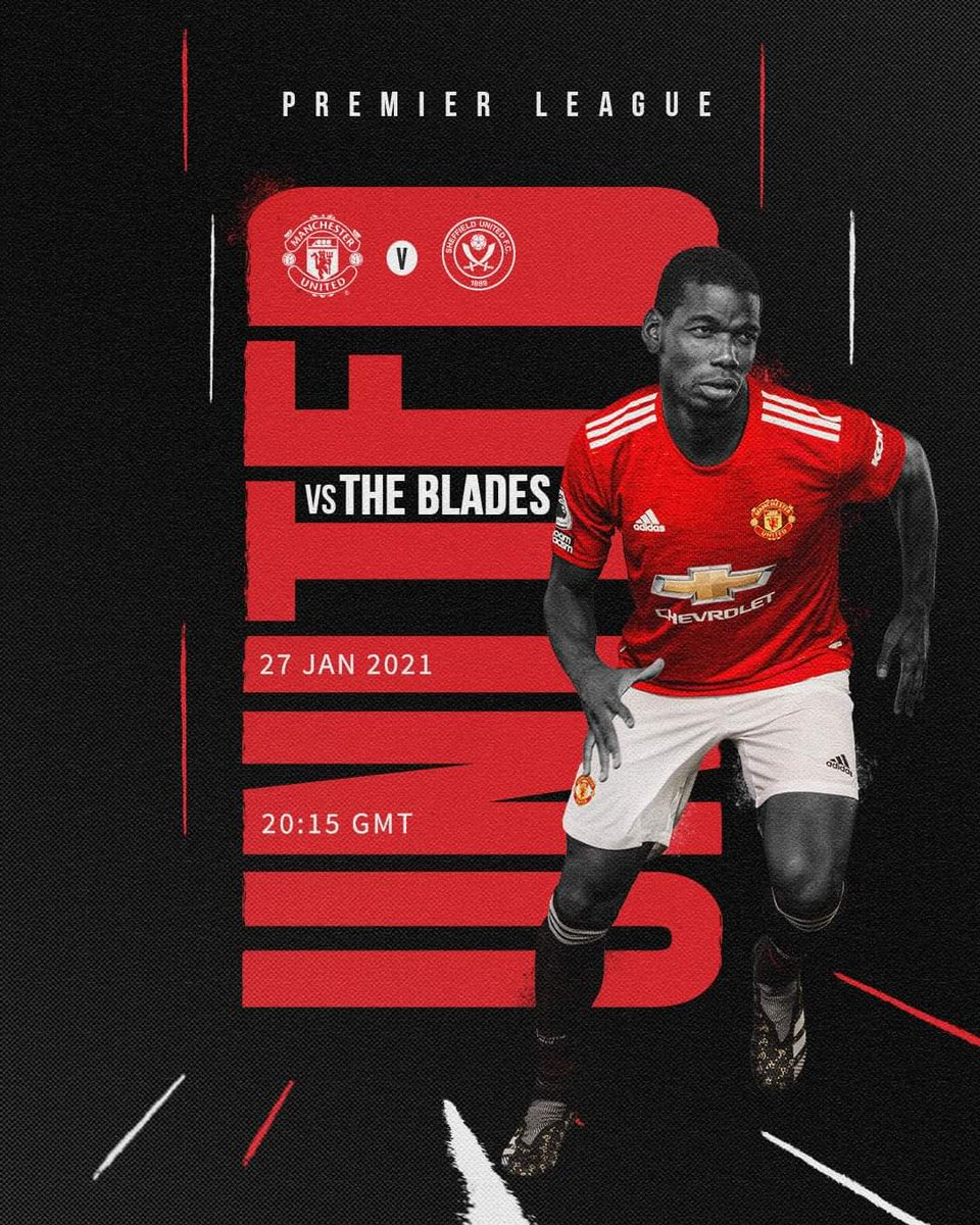 Ole's Tricky Reds play again today. MATCHDAY!!! 😍 #MUFC