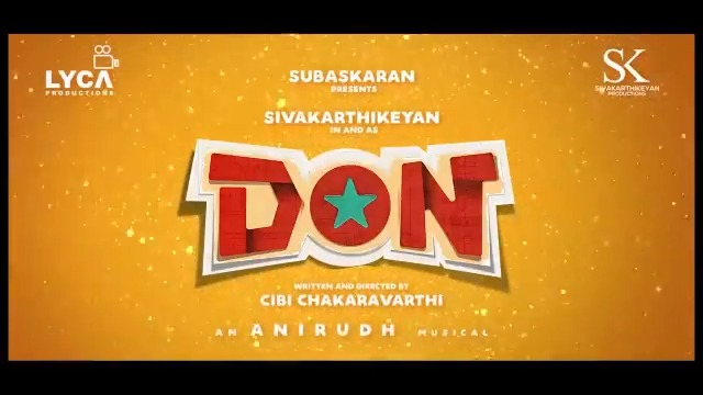 Tamil Star and Super Entertainer #Sivakarthikeyan is back with his new Tamil flick #DON @LycaProductions @Siva_Kartikeyan #INOX @INOXMovies