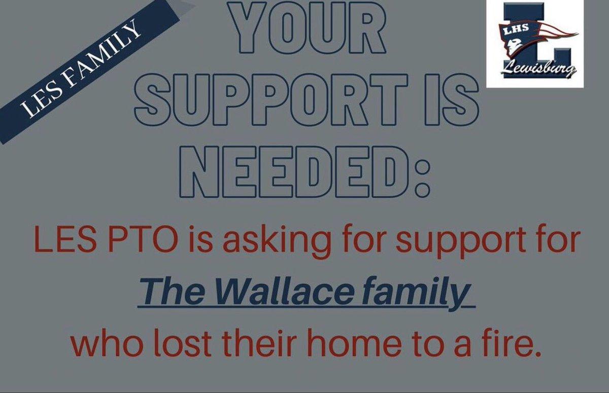 This Thursday! Donate! #lhspatriots #lespatriots #overcome #theburg @TweetDCS_LHS @TweetDCS_LES #lewisburgfamily https://t.co/pdCg63VlWH