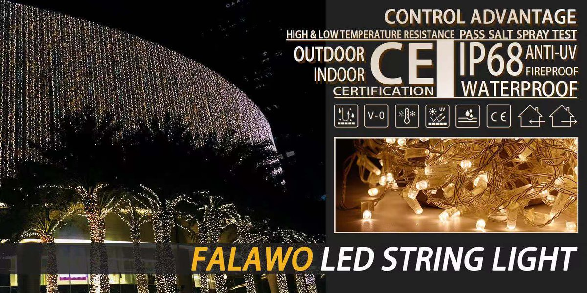 Adopts French imported material to achieve the highest protection grade IP68 and high performance for the outdoor lighting project.  Learn more👇   #GILE #Lightstrade #FALAWO #LED #STRINGLIGHT #project #architecture #lightingdesign #wednesdaythought