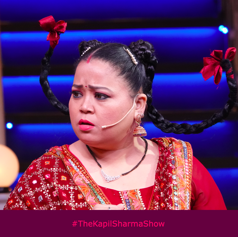 When they still keep talking to you even after you have earphones on! @bharti_lalli #TheKapilSharmaShow #WeAreBanijay
