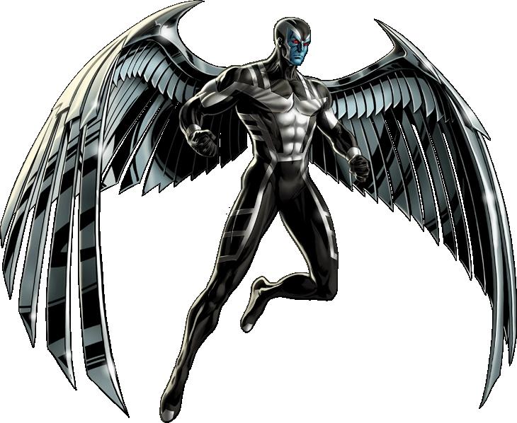 #XMenVote #Archangel  Warren Worthington III (The blue-skinned metal wings version.)