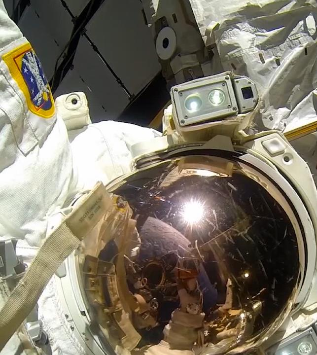 Suit up and step out for some Earth views: it's spacewalk time.  Watch NASA TV tomorrow starting at 5:30am ET for @AstroVicGlover's first spacewalk, with fellow crew member @Astro_illini:
