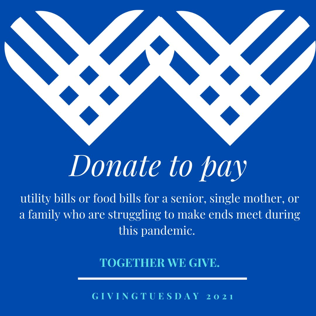 #Togetherwegive #GivingTuesday
