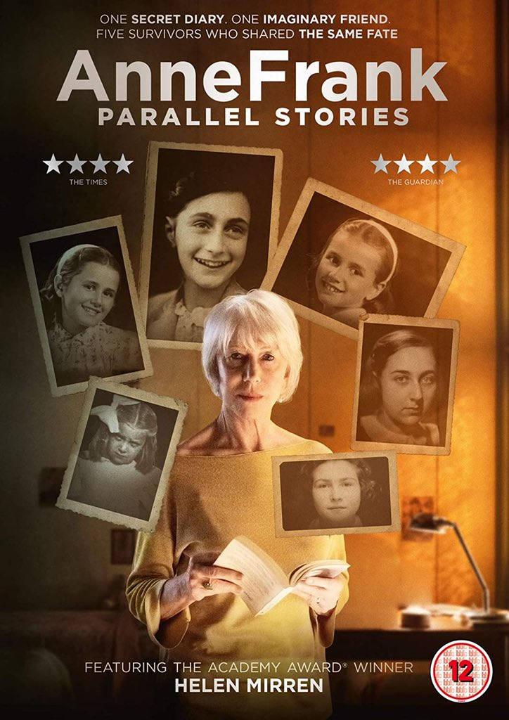 """Today marks the 80th year of #Holocaust. I urge every human on this planet to watch this poignant documentary #AnneFrankParallelStories on @netflix  Anne Frank, """"I don't think of all the misery but the beauty that still remains""""  #HolocaustMemorialDay  #HolocaustRemembranceDay"""