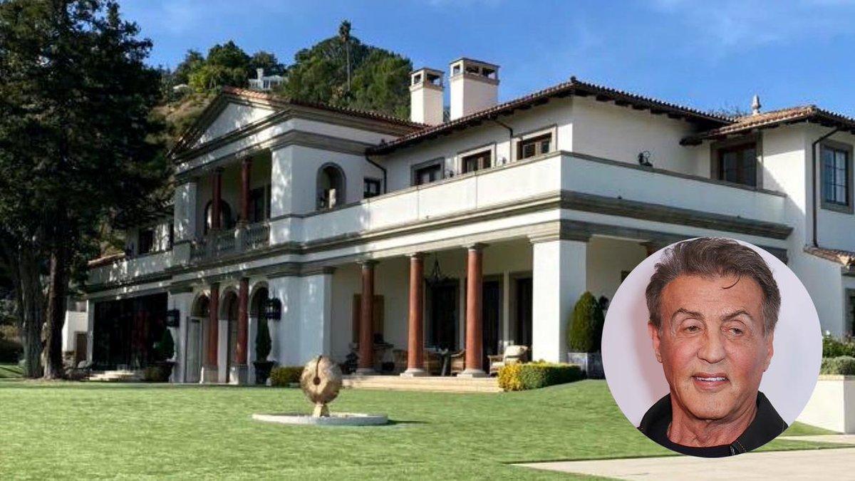 En fotos, la mansión que Sylvester Stallone vende en 130 millones de dólares (aún queda un 'Rocky').