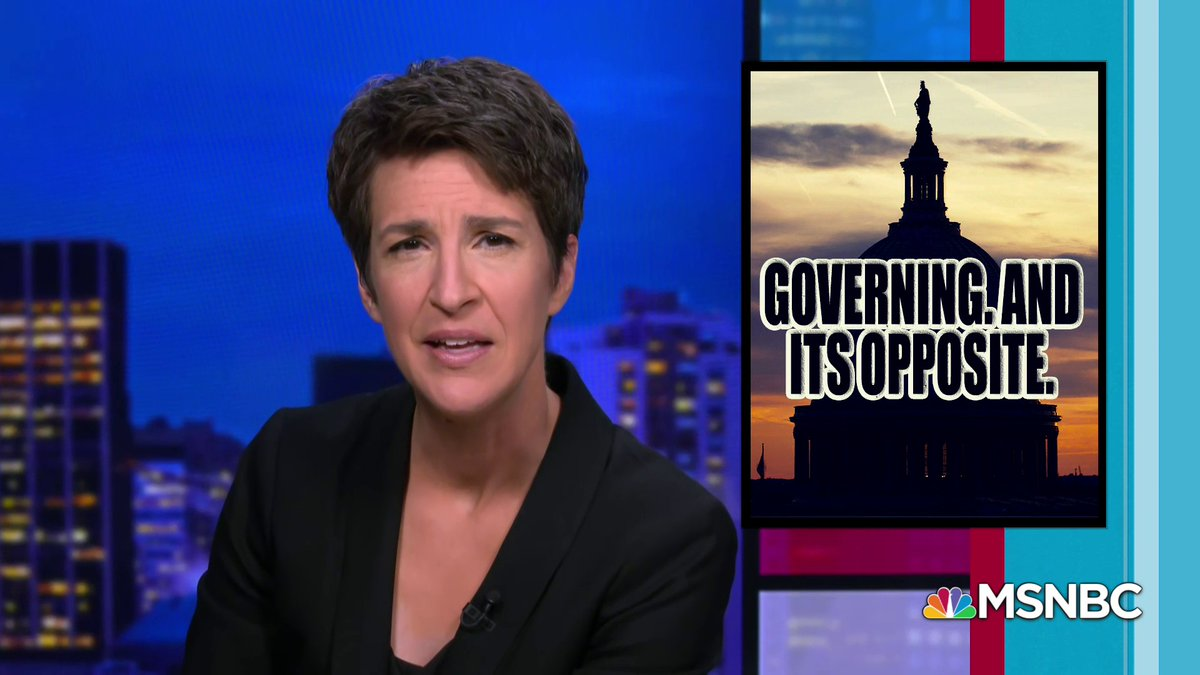 """""""They're dealing with what we would usually think of as a fringe, violent, extremist criminal movement,"""" @Maddow says of the Republican Party.   """"That's more than a party in disarray. That's something where it's very hard to have a stable democracy based on a two-party system."""""""