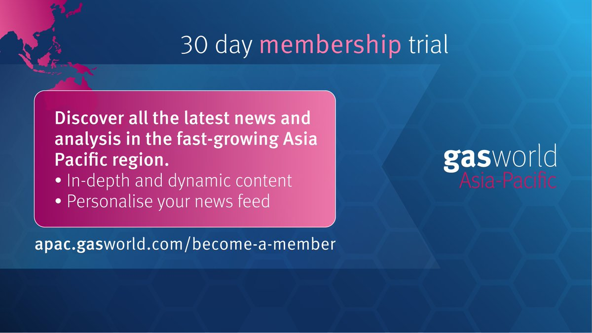 Members of #gasworld #AsiaPacific are kept up to date on all the latest regional #industrialgas news thanks to our in-depth and dynamic content.  Find out if a #gasworldAPAC membership is right for you with our 30-day membership trial.