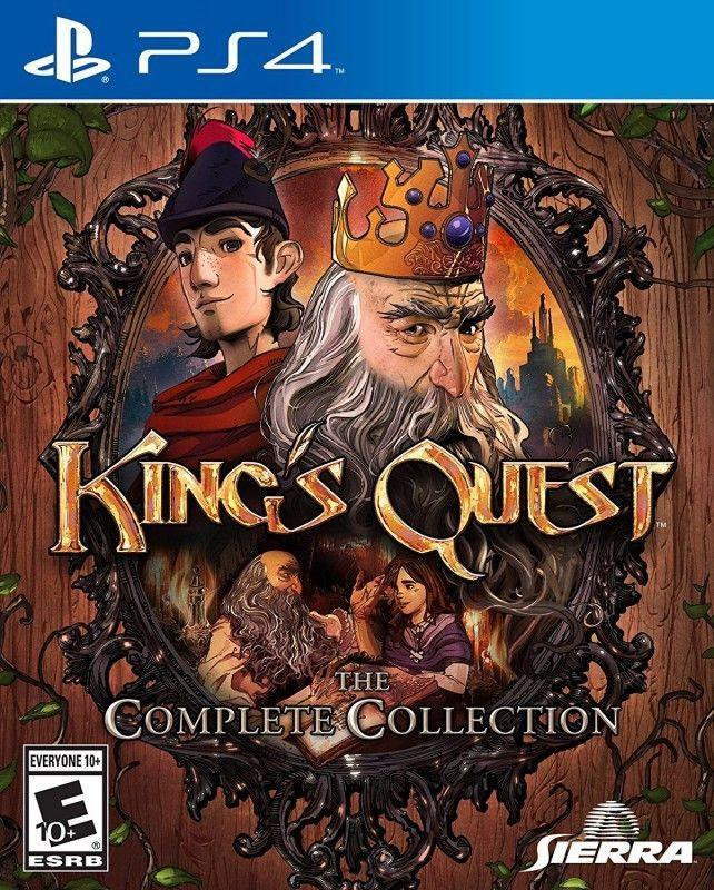 Go on an eye popping incredible fantastic medieval themed journey in Kings Quest The Complete Collection #games #gamers #playstation #ps4 #adventure