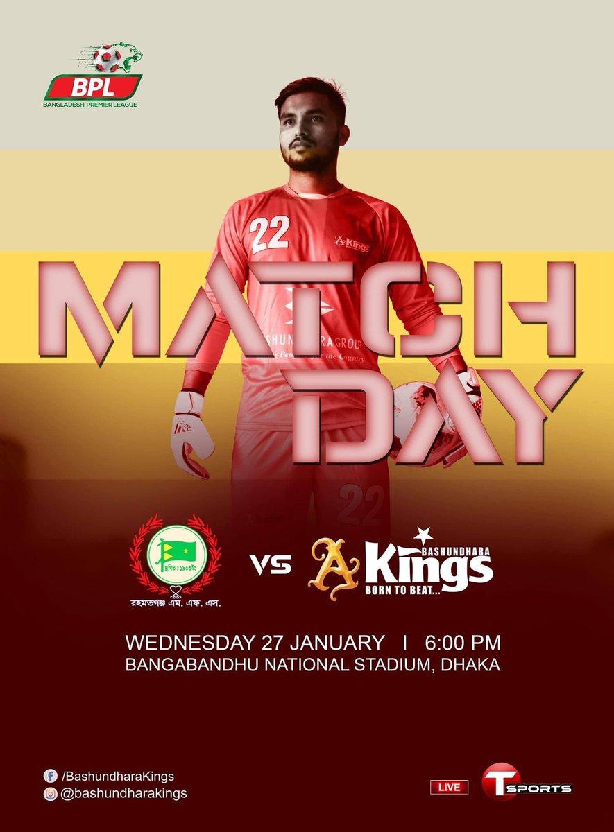 Match Day 🔴 💪☝️👊🏆⚽️#BDK #Born2Beat #BPL #2021 #HereWeGo