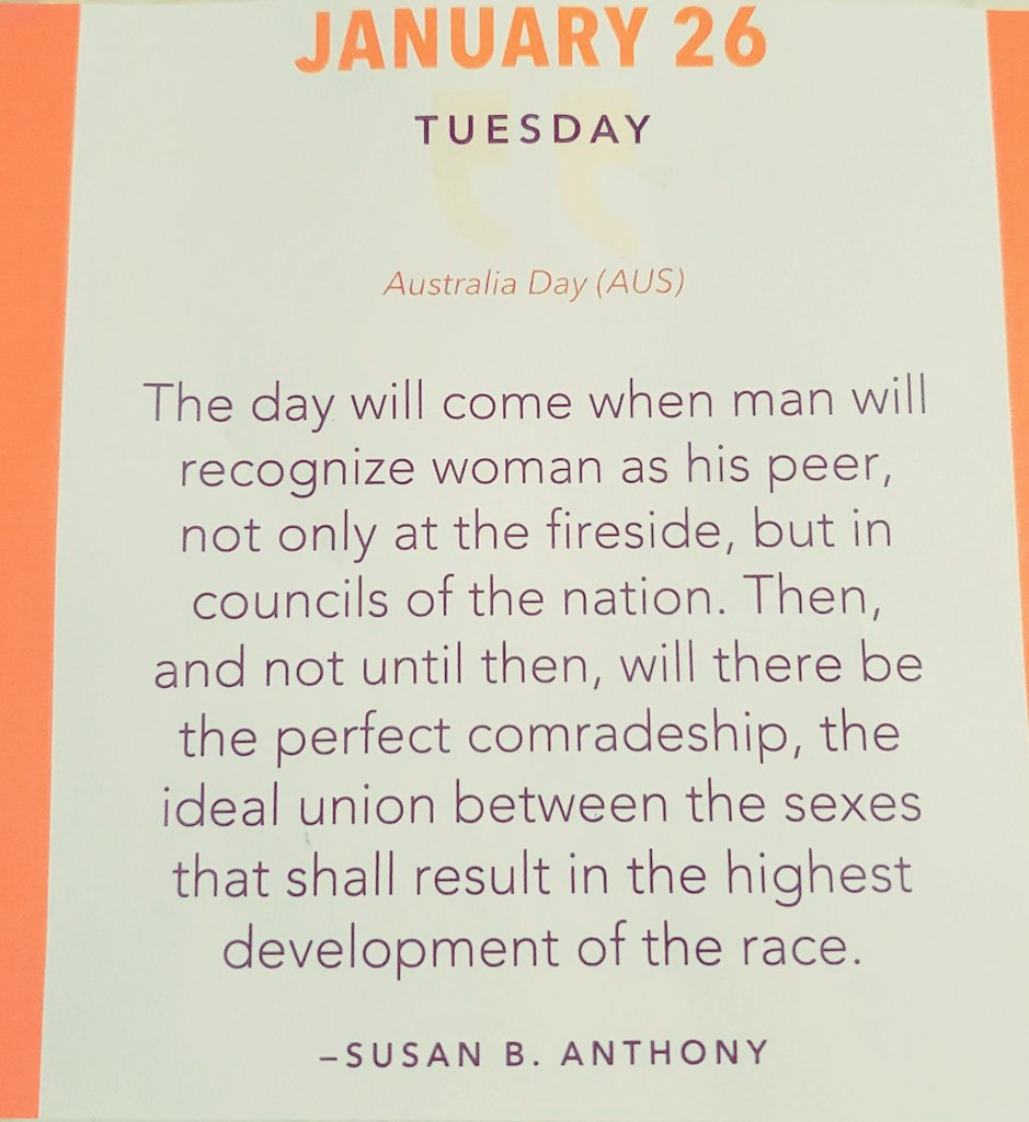 Came back to Twitter to share this gem from my 2021 #inspirational calendar #quotes. 🙌 📆 #tuesdaymotivations #womenleaders