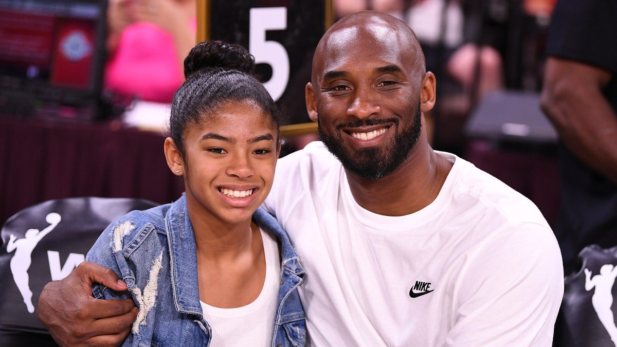 One year ago today, NBA legend @kobebryant, his 13-year-old daughter Gianna, six other passengers, and the pilot died when the helicopter they occupied crashed in Calabasas, California. May you all rest in peace. #RIP #MambaMentality #OnlySportsTalk #TheFanaticEsquires