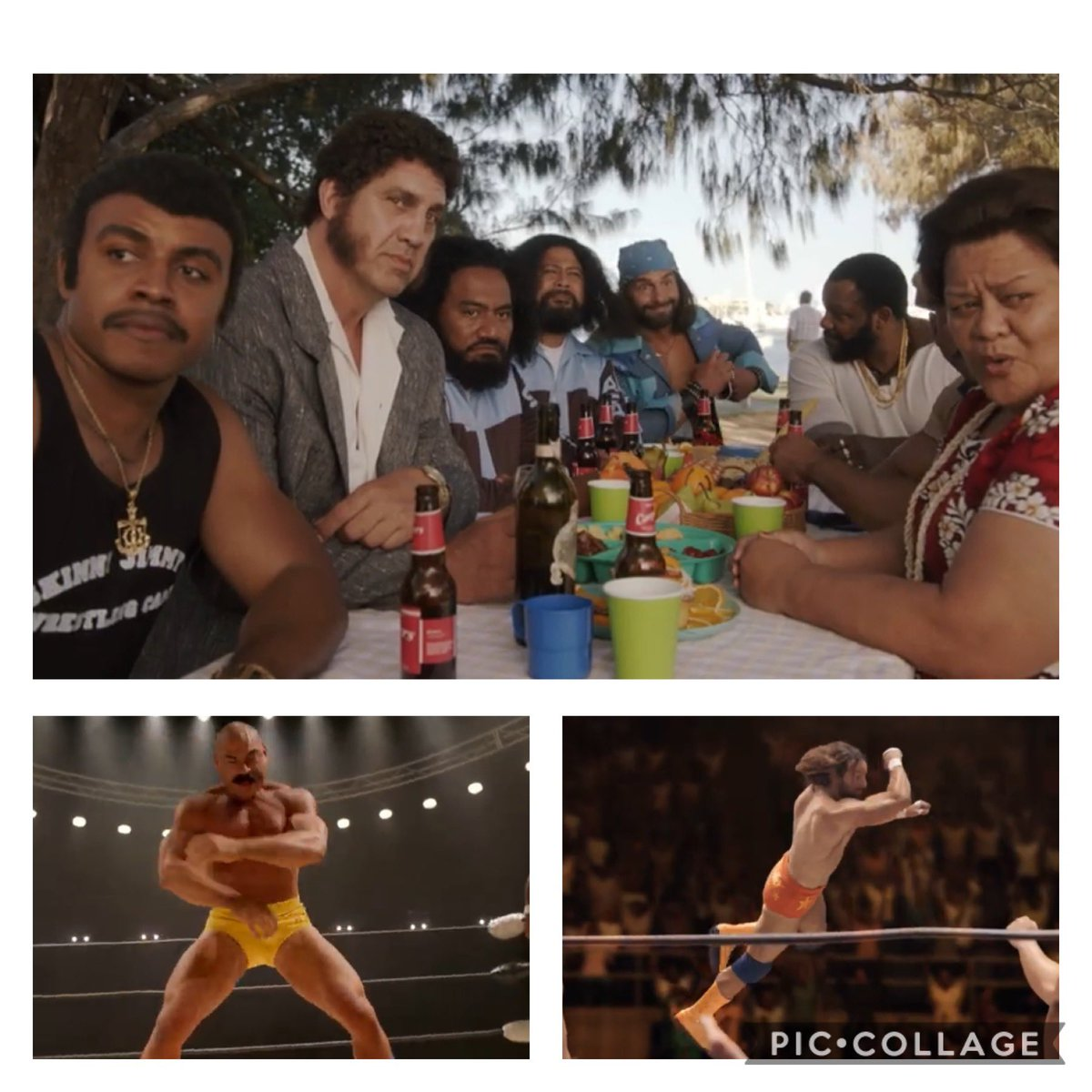 Never before in the history of television has there been a show with an Avengers-like collection of iconic 80's wrestlers.  Rocky Johnson, Andre the Giant, Iron Sheik, Randy Savage, Wild Samoans, JYD and more to come!  Can't wait for the world to see.  #YoungRock 2/16 8/7c @nbc https://t.co/KkwWfWT5m2
