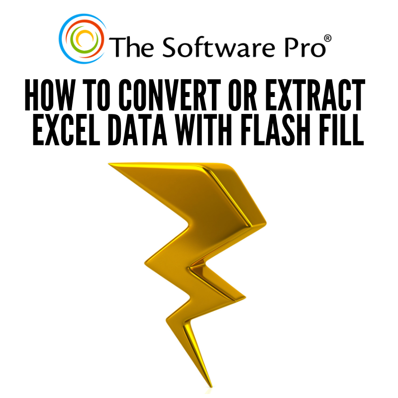 Try the Excel Flash Fill feature when you have data in Excel you want to use differently, such as combining or extracting pieces of it. Find out how to convert or extract Excel data with Flash Fill (video)  #ExcelTips #Excel