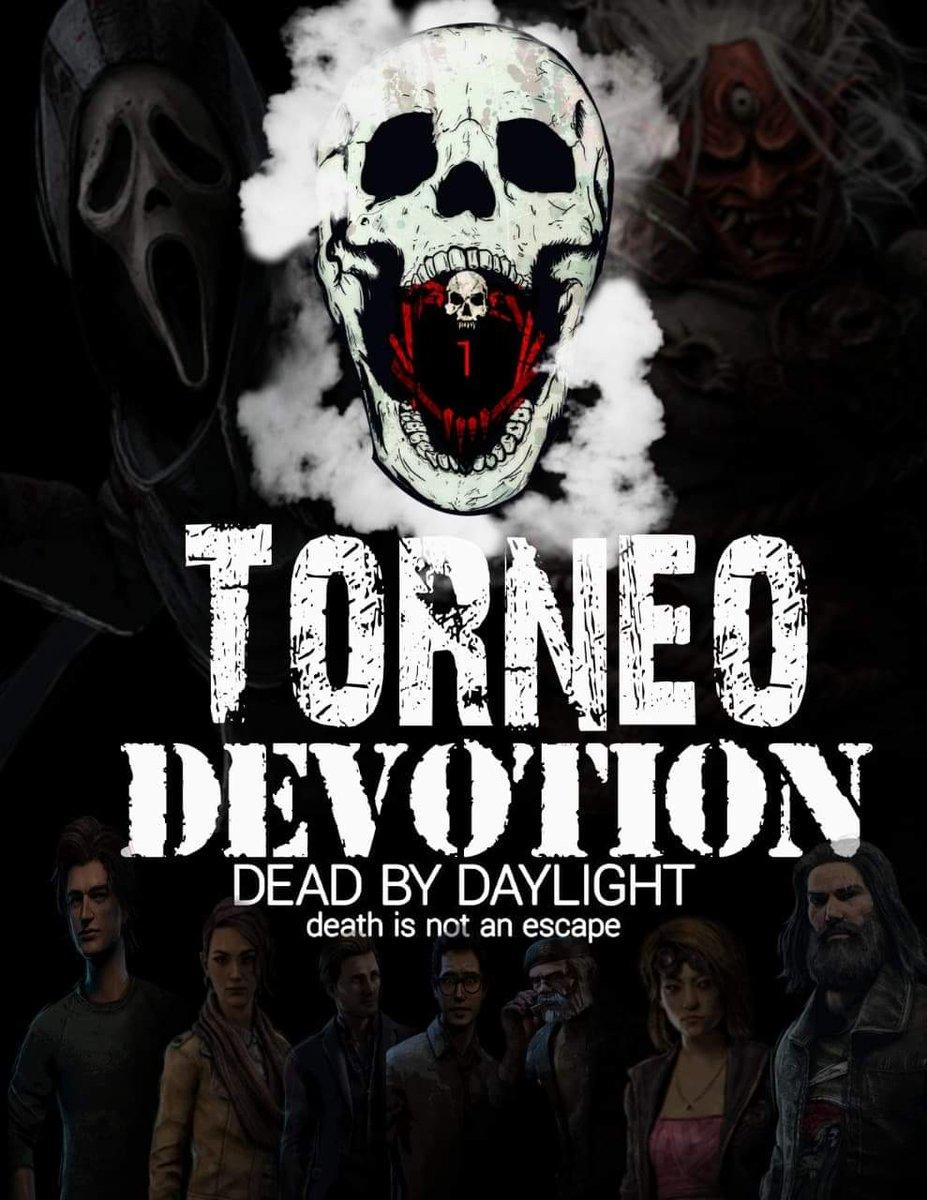 #DeadbyDaylight #tournament #devotion Este viernes es el torneo devotion para que Apoyen a su equipo favorito en los canales de Facebook: clo0n demon Twitch : GoldenWity
