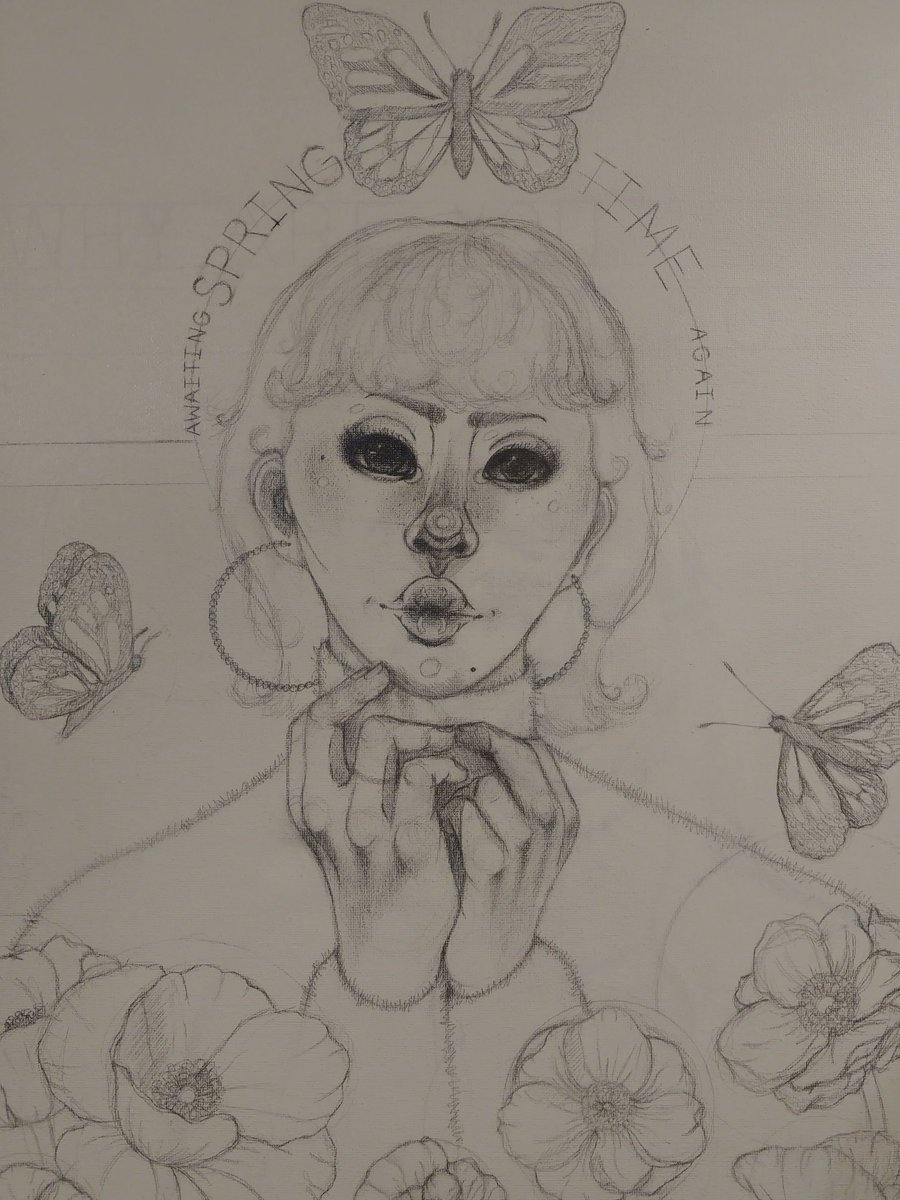 #artistsontwitter #artwork #drawing #drawingoftheday #painting #Egirls #pretty