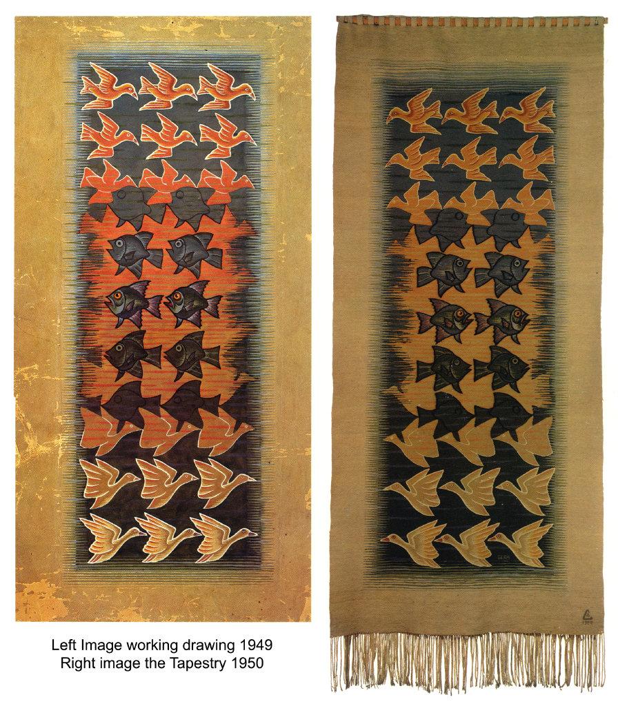 Tapestry, 1950  #mcescher #opart