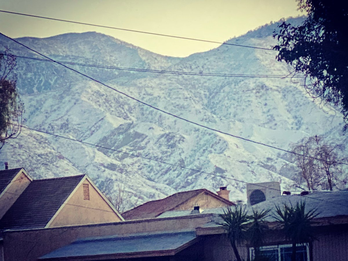 'Snowrise In Yucaipa' #snow #SoCal #Snowing #winterpackage2021 #cold #Covid_19 #CallofDuty #abc7eyewitness #Photos #PhotoOfTheDay #Livestream #love #Ethereum #ETH #impeachment