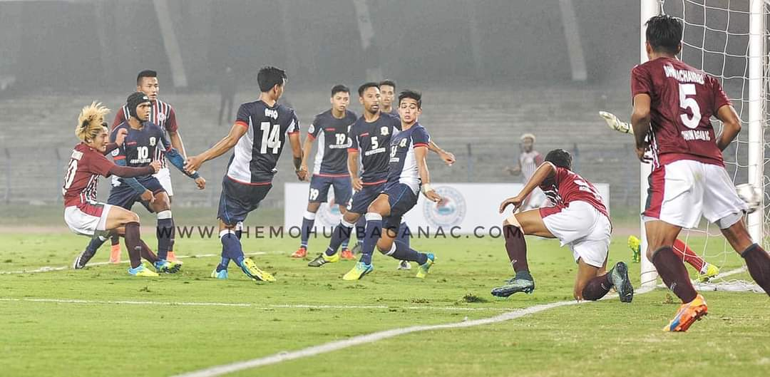 #OnThisDay in 2016, Mohun Bagan became the first Indian team to win a match in @TheAFCCL after defeating Tampines Rovers (Singapore) 3-1 in qualifiers thanks to goals from @jejefanai, @CornellG13 & Katsumi Yusa. Golden team, golden memories.  #JoyMohunBagan  #IndianFootball