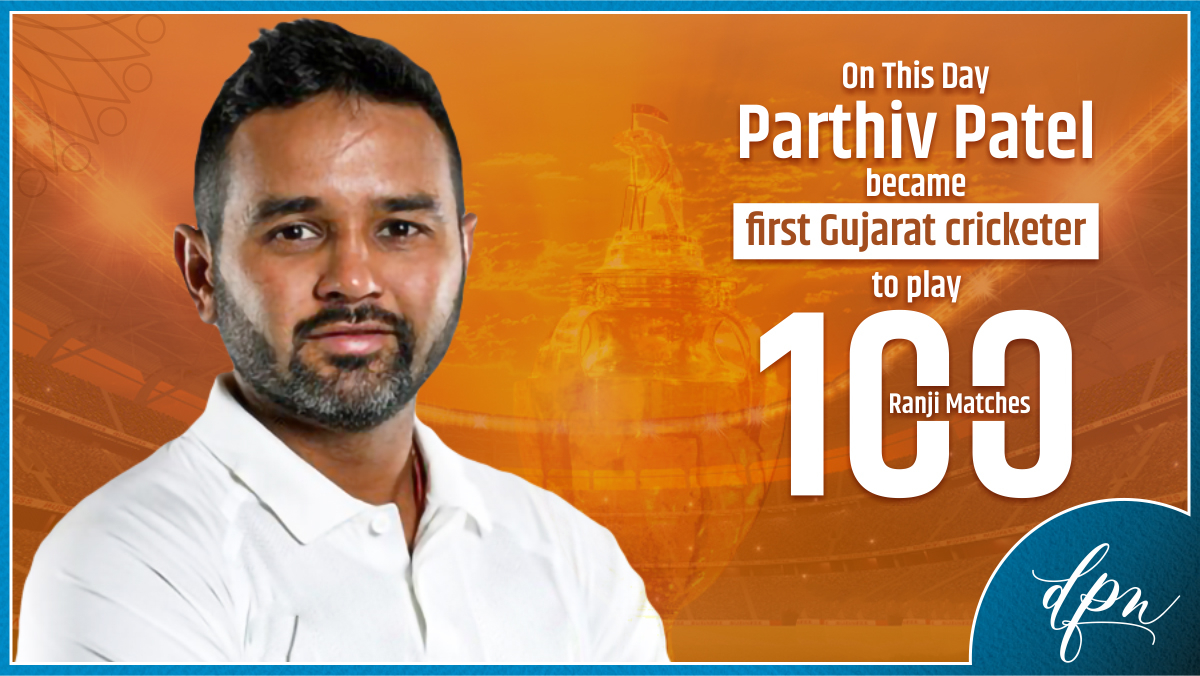 It was on this day last year that Parthiv Patel created history by becoming the first #Gujarat cricketer to play 100 Ranji matches. A big landmark in his illustrious career. #ParthivPatel #Cricket @parthiv9 @BCCI @GCAMotera