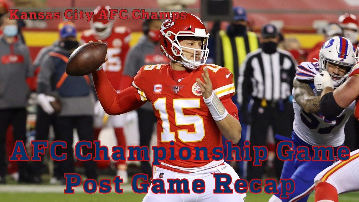 Hey guys!!! Hope you are all enjoying the weekend. Here is my AFC Championship Game Post Game Recap for you all. Follow the link and remember to activate your notifications.  #NFL #NFL2020 #PostSeason #BUFvsKC #BuffaloKansasCity #BillsChiefs #AFCChampions