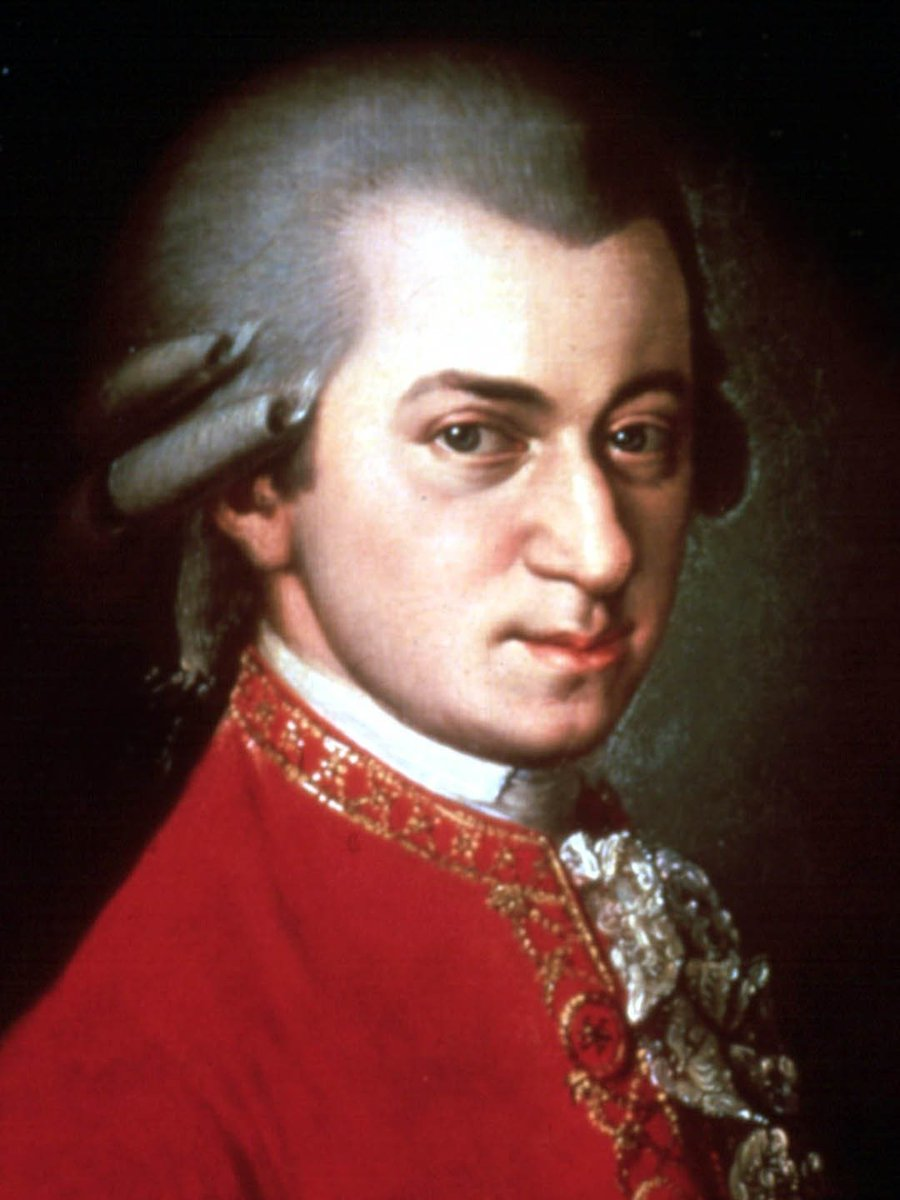 """""""I pay no attention whatever to anybody's praise or blame. I simply follow my own feelings."""" 🎶 Musical genius Wolfgang Amadeus #Mozart was born #onthisday 27 January 1756. 8 more years, he had written his first symphony."""