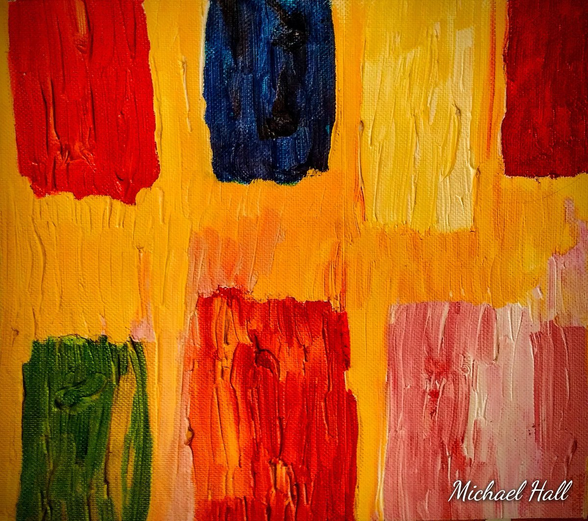 """""""Hear The Silence Between The Notes"""" #musicismagic #Wintervibes #abstractpainting #ArtistOnTwitter #artwork #ColorOutOfSpace"""