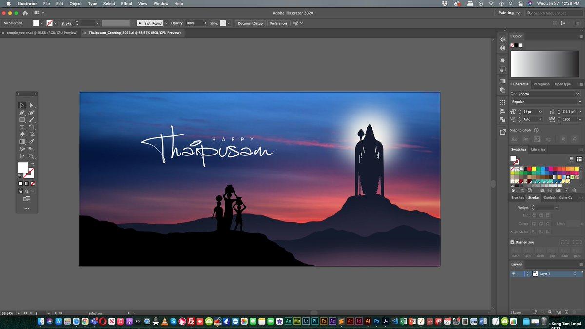 #Artwork > #Design #Graphic #Art | #Thaipusam 2021