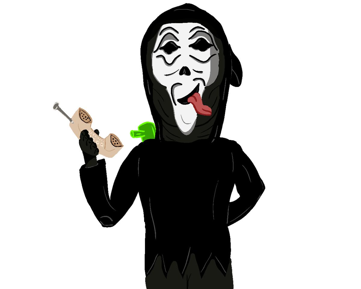 Wazzzzzzzupppp #ScaryMovie #Ghostface #Scream #ArtistOnTwitter #Artwork #Art #Wazzup #DeadbyDaylight