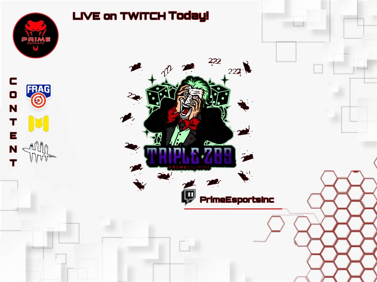 LIVE NOW on #twitch with @Triple289   Twitch:   #Sponsored by: Pro Pocket Gamers @GamersPocket Use the code PRIME25 for 25% off!   #esports #Streamer #gaming #streams #smallstreamers #FragProShooter #CallOfDutyMobile