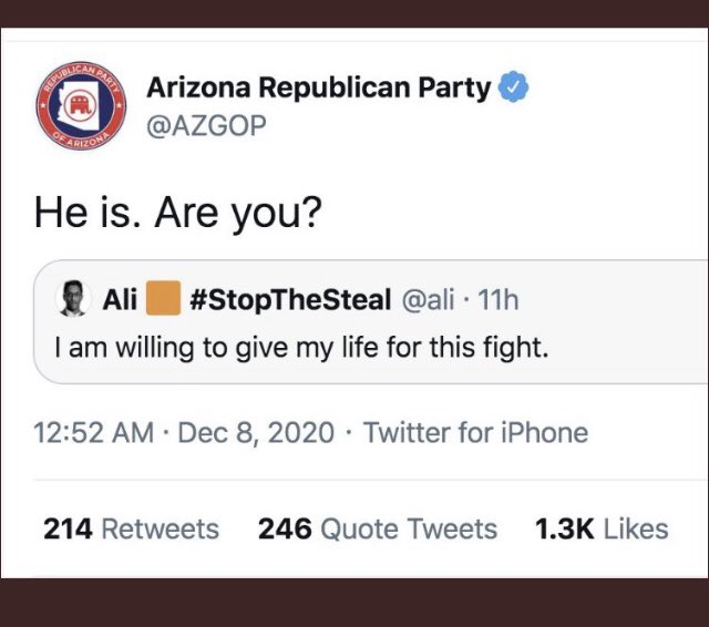 @JeffFlake @RJRobb Its because we have a #QCongress look what @AZGOP tweeted out, its like there was a plan in placed.