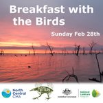BREAKFAST WITH THE BIRDS Join the North Central CMA team on a Ramsar listed wetland to hear the local bird population wake up.  Guest speakers & light breakfast provided. Exact location revealed on registration: https://t.co/kXuzNqiaZd  #CMAsGetItDone #WorldWetlandsDay #wetlands