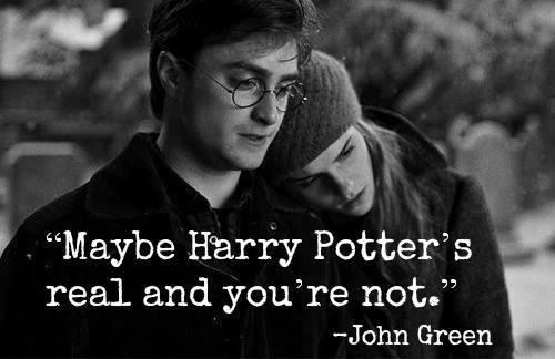 Think about that for a minute. #harrypotter #bookworm